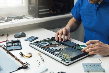 Onderdelen en reparaties laptops