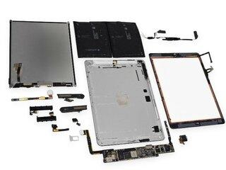 onderdelen en reparaties ipad