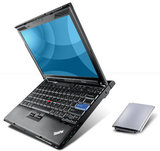 Windows XP laptop Lenovo 12.1 inch Thinkpad X200 2GB 320GB_