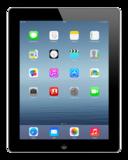 *tijdelijk niet leverbaar* Apple iPad 4 Zwart 16GB Wifi (4G) + garantie_
