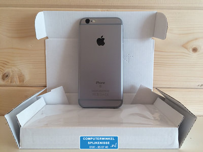 *Outlet* Apple iPhone 6S 32GB simlockvrij Space Grey + Garantie