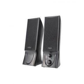 ADJ 760-00014ADJ Slender Speaker Set [2.0CH, 2x 2W, USB Powered, Zwart]