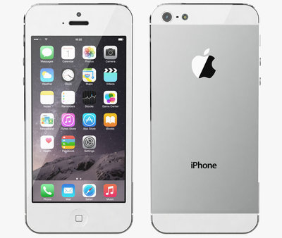 *Gratis screen protector* Apple iPhone 5s 64GB white silver + Garantie