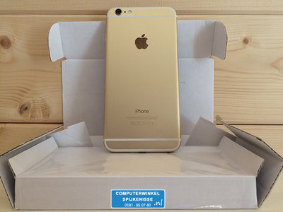 *Outlet* Apple iPhone 6 Plus 32GB simlockvrij white gold + Garantie