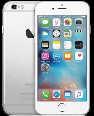 *Gratis iPhone standaard* Apple iPhone 6S Plus 32GB simlockvrij White Silver + Garantie