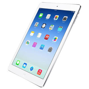 *Gratis standaard* Apple iPad Air White Silver 32GB WiFi (4G) + Garantie