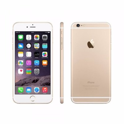 *Gratis iPhone standaard* Apple iPhone 6 Plus 16GB simlockvrij white gold + Garantie