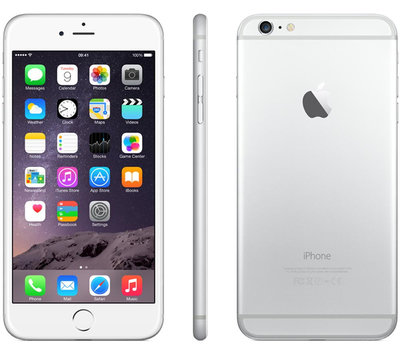 *Gratis iPhone standaard* Apple iPhone 6 Plus 64GB simlockvrij white silver + Garantie
