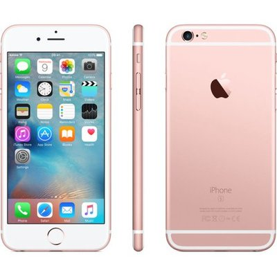 *Gratis iPhone standaard* Apple iPhone 6S Plus 64GB simlockvrij rose gold + Garantie