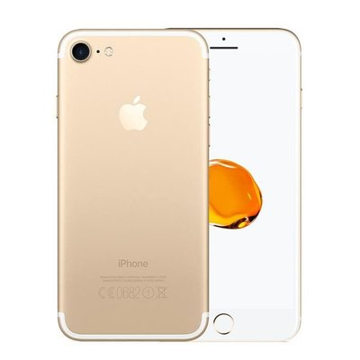 Apple iPhone 7 128GB simlockvrij white gold + garantie op=op