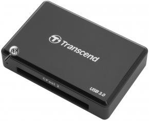 Transcend TS-RDF2 RDF2 CFast 2.0 Card Reader [USB3.0 Type-A, 500Mb/s, Black]