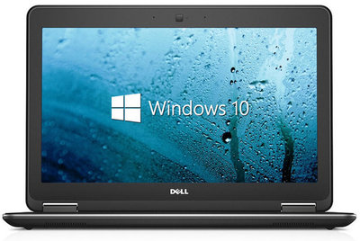 Windows 7 of 10 Pro Dell Latitude E7250 i5-5300U 8GB 256GB SSD 12.5 inch