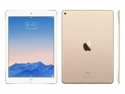 *thuiswerk/studie actie* Apple iPad Air 2 White Gold 16GB Wifi (4G) + Garantie op=op
