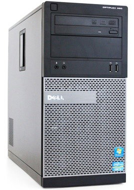 Windows XP, 7 of 10 Pro PC Dell OptiPlex 390 MT i3-2120 4GB 250GB HDMI + garantie