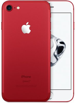 Apple iPhone 7 128GB simlockvrij white red edition + Garantie