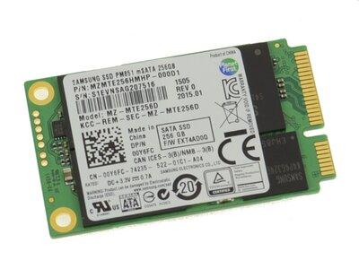 *outlet* Samsung 256GB SSD mSATA + garantie