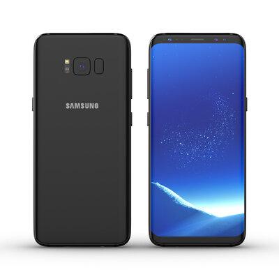 Samsung galaxy S8 64GB simlockvrij midnight black (software taal engels) + Garantie