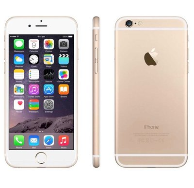*populair* Apple iPhone 6 64GB simlockvrij White Gold + Garantie