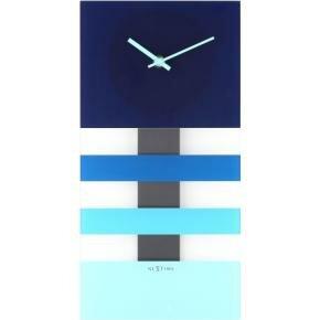 NeXtime 2855bl Bold Stripes [38x19 cm, Blue]
