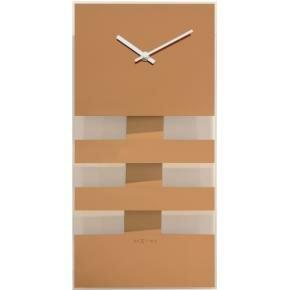 NeXtime 2855co Bold Stripes [38x19 cm, Copper]