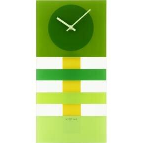 NeXtime 2855gn Bold Stripes [19 x 38 cm, Green]