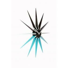 NeXtime 3051bl Nova [Ø50 cm, Black/ Blue]