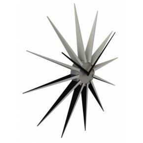 NeXtime 3051zi Nova [Ø50 cm, Black/ Silver]