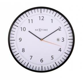 NeXtime 3058wi Quick [Ø35 cm, White/ Black]