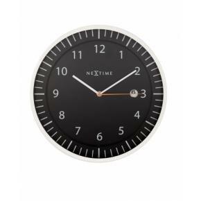 NeXtime 3058zw Quick [Ø35 cm, Black]