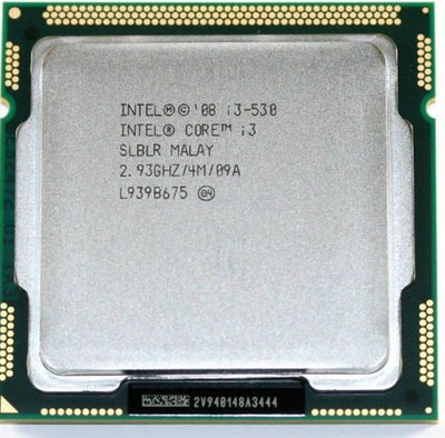 Opruiming *showmodel* Intel processor i3-530 2.93Ghz LGA1156 op=op