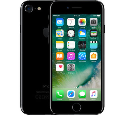"*populair* Apple iPhone 7 256GB 4.7"" wifi+4g simlockvrij zwart + Garantie op=op"
