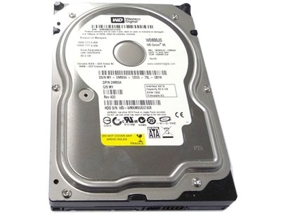"Opruiming *showmodel* WD 3.5"" 80GB PC harddisk WD800JD SATA + garantie"