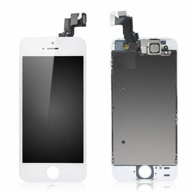 Voorgemonteerd iPhone SE scherm en LCD white