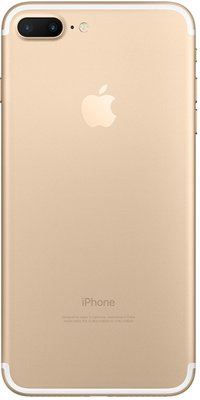 "Apple iPhone 7 plus 128GB 5.5"" wifi+4g simlockvrij wit goud + garantie"