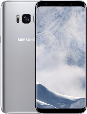 "Samsung galaxy S8 plus 6.2"" 64GB simlockvrij silver (software taal engels) + Garantie"