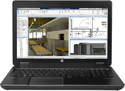 "*Thuiswerk laptop* Windows 10 Pro HP ZBook 15 G2 i7-4910MQ 16GB 240GB SSD 15"""