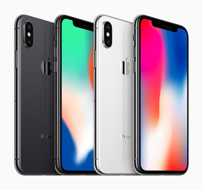 Apple iPhone X 64GB simlockvrij black silver + garantie