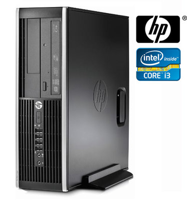 thuiswerk actie Windows XP, 7 of 10 Pro PC HP 8100 Elite SFF i3-550 2/4/8GB hdd/ssd dvdrw+garantie