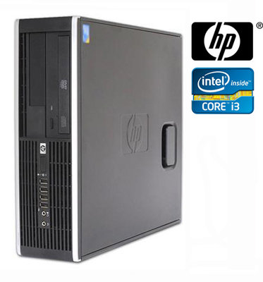 Windows XP, 7 of 10 Pro (Game PC) HP 6300 Pro SFF i3-2120 2/4/8GB hdd/ssd (wifi) + garantie