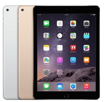 "thuiswerk/studie actie Apple iPad 9.7"" Air 2 16/32/64/128GB WiFi (4G) space grey + garantie"