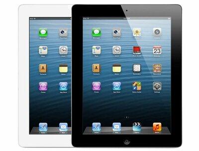 """thuiswerk/studie actie Apple iPad 4 9.7"""" zwart wit 64GB wifi (4G) + garantie"""