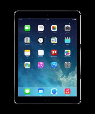 """iPad Air 9.7"""" 128GB zwart (Dual Core 1.3Ghz - 2048x1536) WiFi (4G) IOS 12 + garantie"""