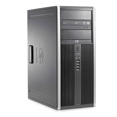 Windows XP, 7 of 10 Pro HP 8000 Elite CMT C2D-E8400 2GB 250GB DVDRW + garantie