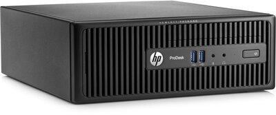 Windows 7 of 10 Pro HP Mini PC 400G2.5 i5-4590s 4GB 1000GB DVDRW + garantie