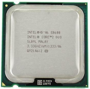 Intel Core 2 duo E8600 3.33Ghz 6MB 1333Mhz FSB socket 775