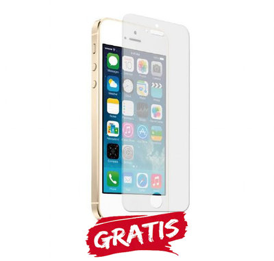 Gratis screen protector bij aankoop iPhone 5S of SE