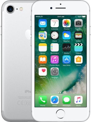 iPhone 7 zilver 32GB simlockvrij + garantie