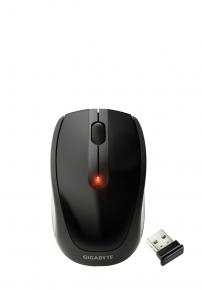 Gigabyte M7580 High Performance Wireless Mouse [Wireless 2.4GHz/ USB optical 1000DPI black]
