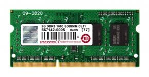 Transcend TS256MSK64V6N SO-DIMM [2GB DDR3-1600 SO-DIMM, CL11, 1.5V]