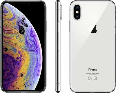 Apple iPhone XS 256GB zilver silver + garantie